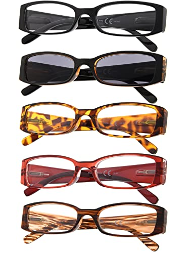 Review 5-Pack Ladies Reading Glasses