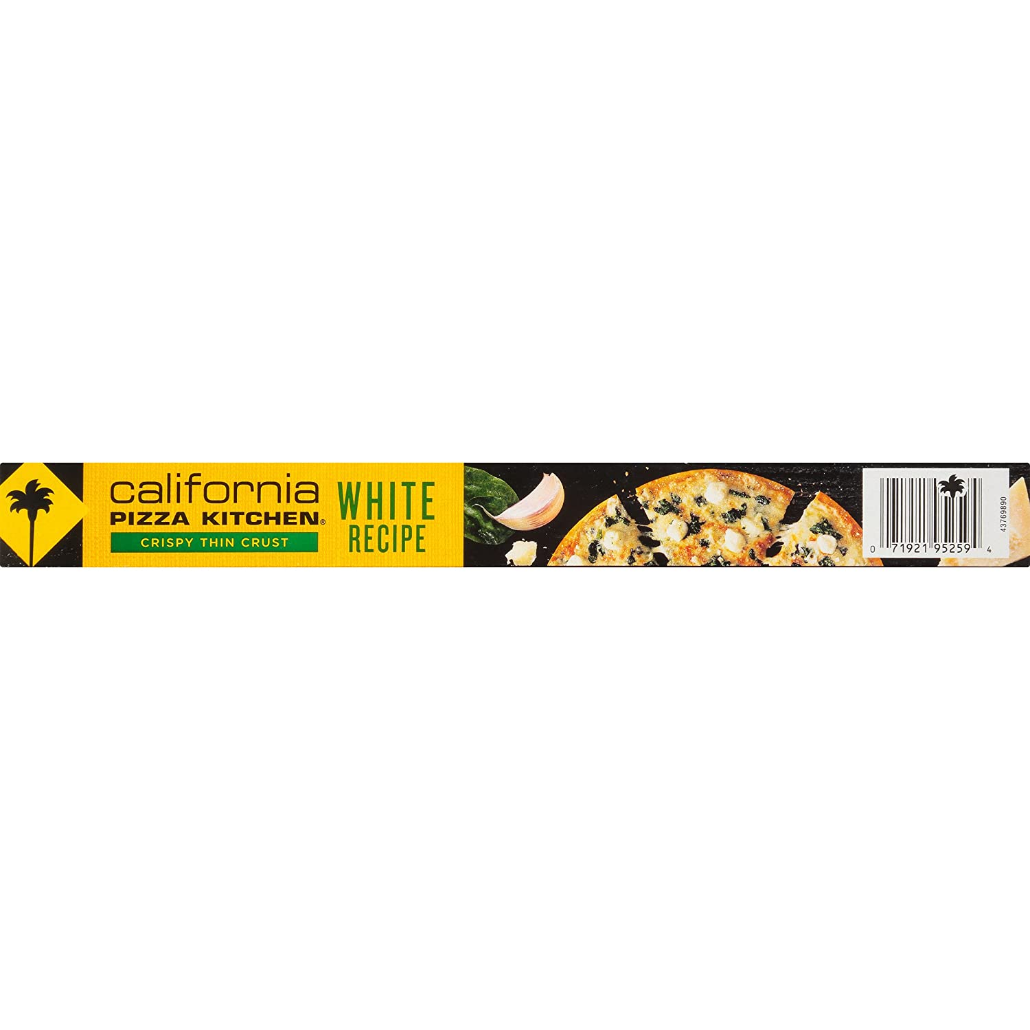 California Pizza Kitchen, Crispy Thin Crust White Frozen Pizza, 13.4 ...