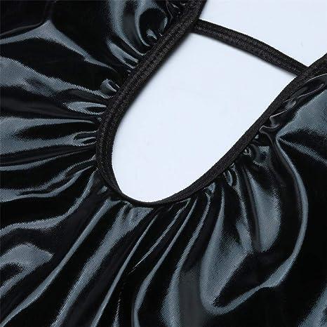 Luckycat Lencería Erotica de Mujer, Mujeres Sexy Cuero Ropa de Dormir Moda Mujeres Sexy Ropa Interior Camisón Perspectiva de Encaje de lencería Hueca ...