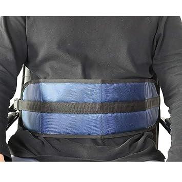 QEES SYD02 - Cinturón de seguridad para silla de ruedas con cojín ...