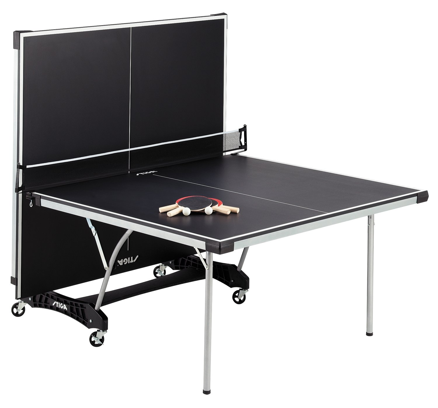 Amazon.com : STIGA Daytona Table Tennis Table : Stiga Datona Ping Pong Table  : Sports U0026 Outdoors
