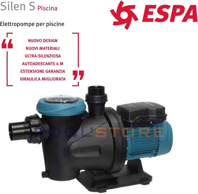 BOMBA DE PISCINA ESPA SILEN 60M (SILEN S 60 12M) 0.5CV DEPURADORA ...