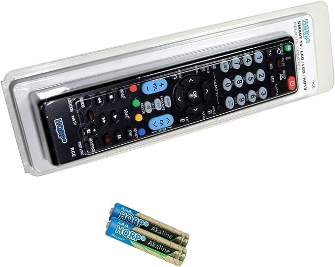 HQRP Mando a Distancia Universal para televisores LED de LG; 32LF510B, 32LF5610, 42LF5610 LED TV: Amazon.es: Electrónica