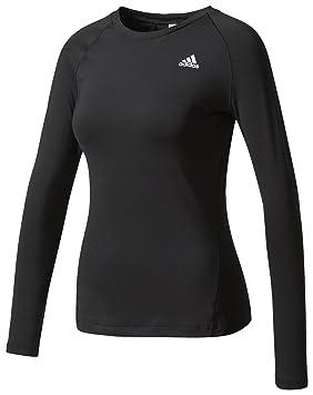 Adidas TF LS Top Camiseta Manga Larga, Mujer: Amazon.es: Deportes y aire libre