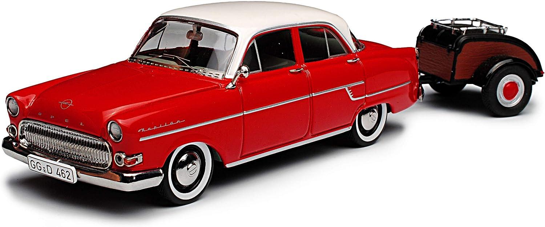 Schuco Opel Kapit/än mit Anh/änger Westfalia 1//43 Modell Auto mit individiuellem Wunschkennzeichen