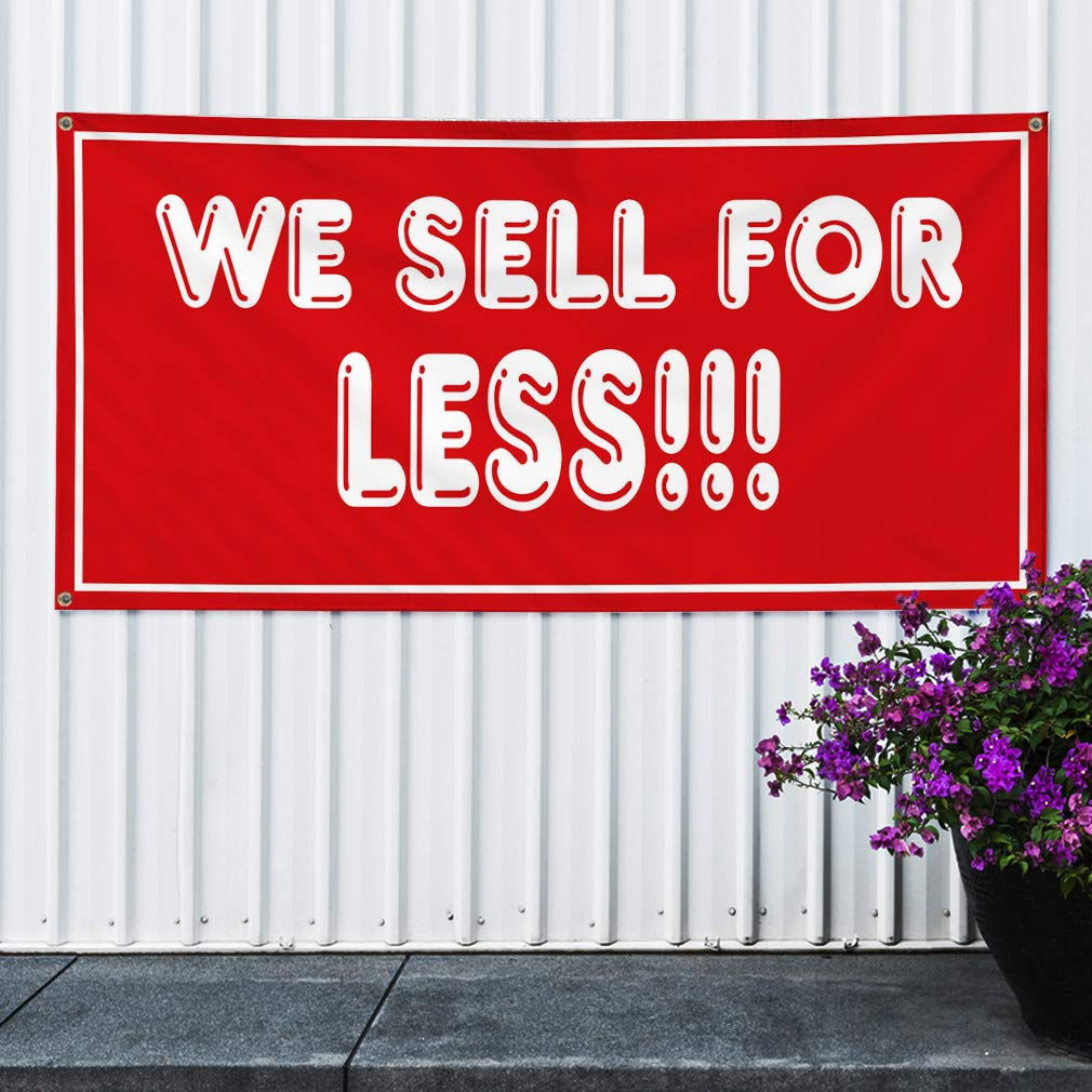 4 Grommets 28inx70in Vinyl Banner Sign Now Open Red White Business Now Open Outdoor Marketing Advertising Red Multiple Sizes Available Set of 2