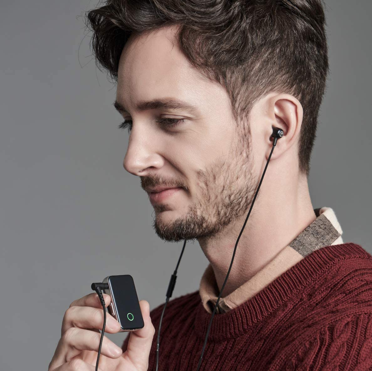 3.5mm Unbalanced /& 2.5mm Balanced Output aptX Renewed EarStudio ES100 MK2-24bit Portable High-Resolution Bluetooth Receiver//USB DAC//Headphone Amp with LDAC AAC aptX HD