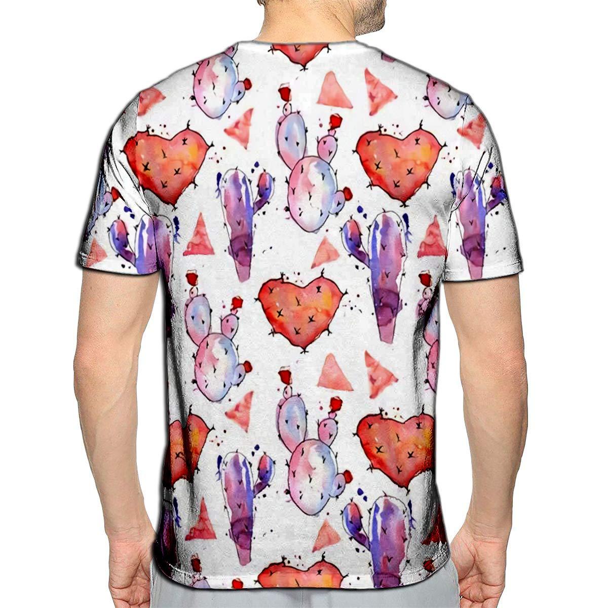 3D Printed T-Shirts Mom Love Short Sleeve Tops Tees