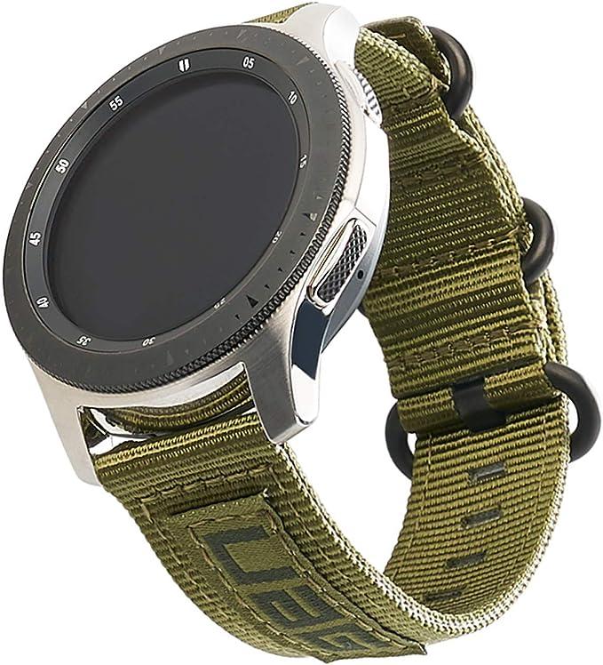 Nato Leder Uhrenarmband Modell United-P schwarz 20 mm Nato Strap
