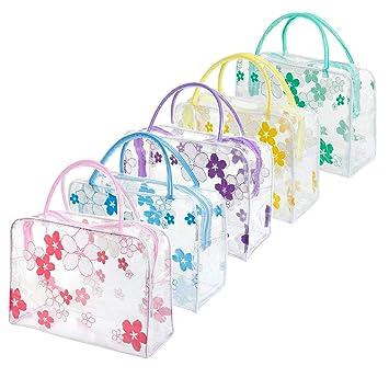 Amazon.com: 5 bolsas transparentes impermeables para ...