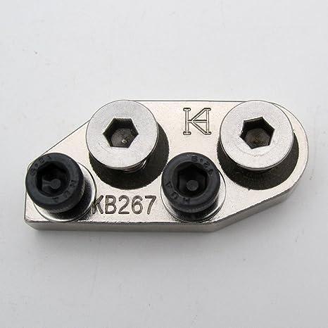 KUNPENG - 1 conjunto # KB-267 soporte adaptador adecuado ajuste para Durkopp Adler 267