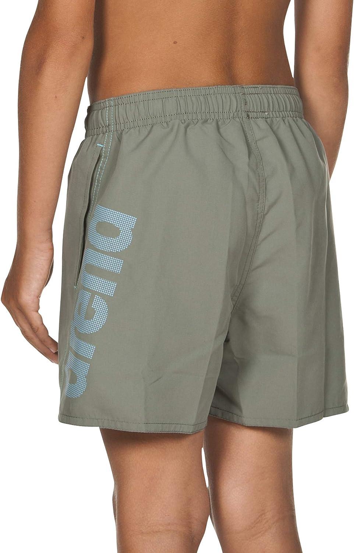 ARENA Jungen Badeshorts Fundamentals Logo Boxer Junior Costume da Bagno a Pantaloncino Bambino