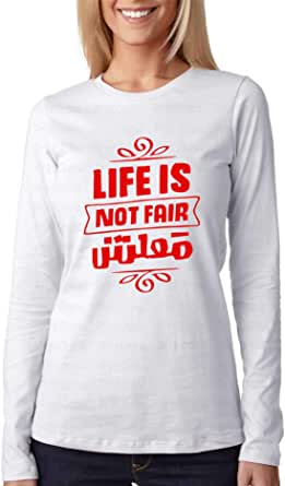 Print.Online T-Shirts For women -white - 2724633587223