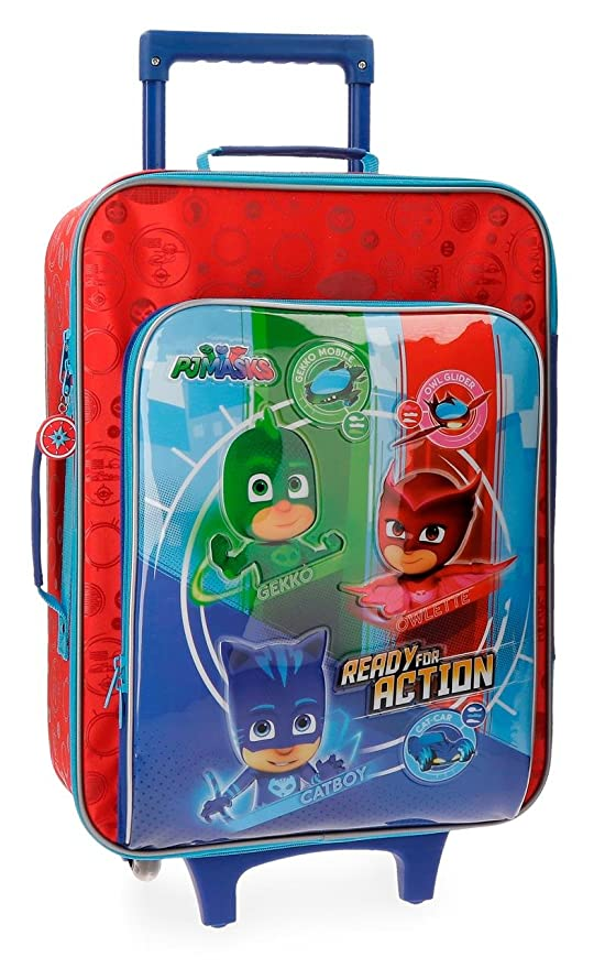 PJ Masks Ready For Action Equipaje Infantil, 50 cm, 25 litros