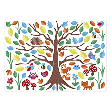 JoJo Maman Bebe Wall Stickers, Woodland Tree Part 39