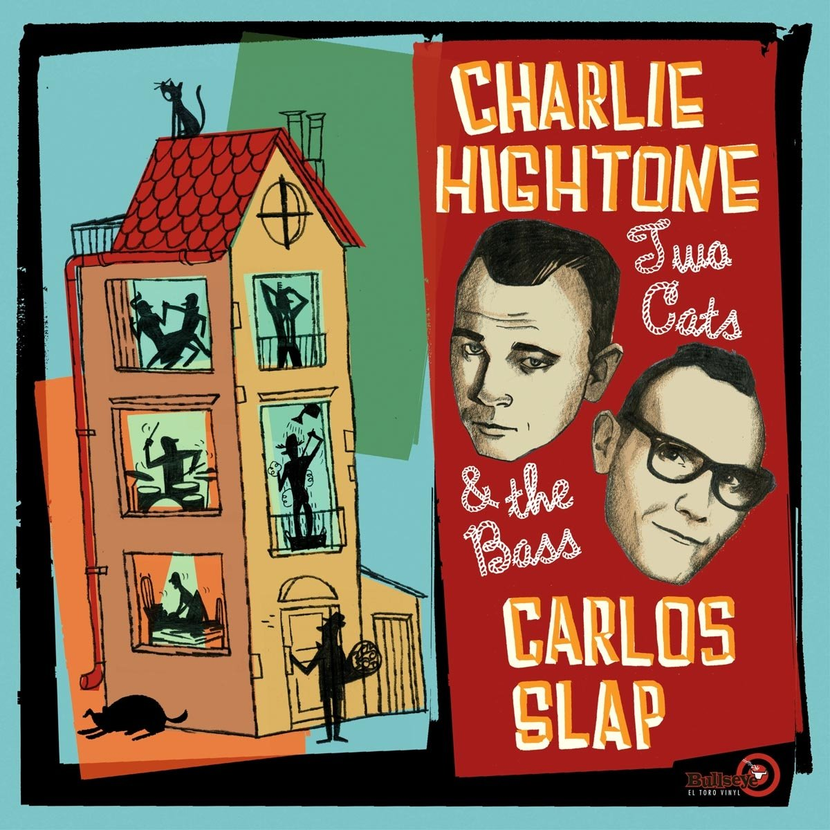 Vinilo : CHARLIE/SLAP, CARLOS HIGHTONE - Two Cats & The Bass (Spain - Import)