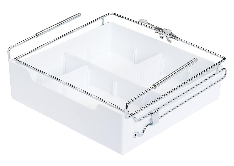 Kitchencraft - Cassetto, Facile da Aggiungere sotto mensole, Organiser, 29,5x 28cm. KCUSDRAWER
