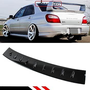 Amazon For 2002 2007 Subaru Impreza Wrx Sti Jdm Gloss Black