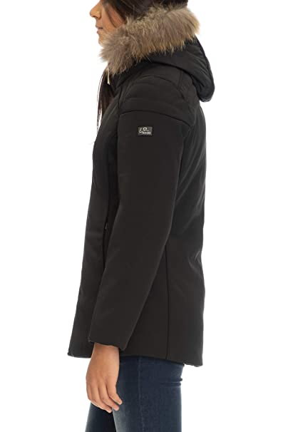 it Yes Xl Abbigliamento O051q200 Zee Donna Giubbino Amazon Nero Faqa0xAPw