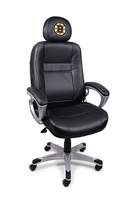 NHL Boston Bruins Leather Office Chair