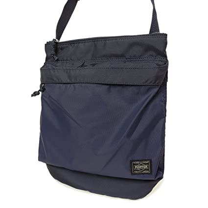 Amazon.com  Yoshida Bag Porter Force Shoulder Bag 855-05901 Navy from  Japan  Office Products cbb1be32caf82