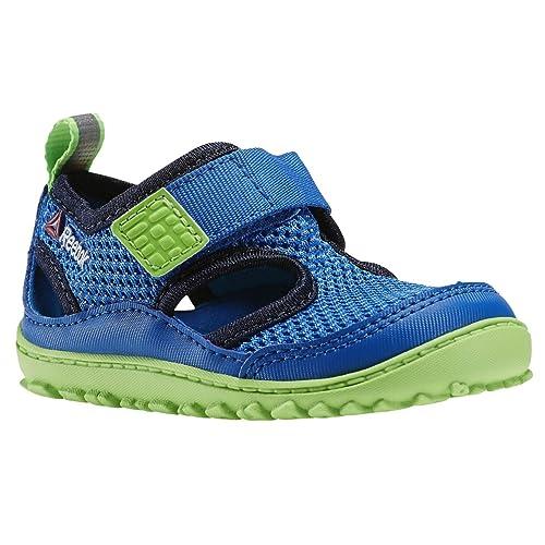 788afa2c853 Reebok - Ventureflex Sandal Blueindigogreenwh - V70130 - Color  Blue-Green  - Size