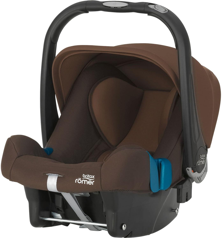 Britax Römer Baby-Safe Plus SHR II Babyschale, Gruppe 0+ (Geburt - 13 kg), Kollektion 2019, storm grey Britax Römer NPD 2000030768