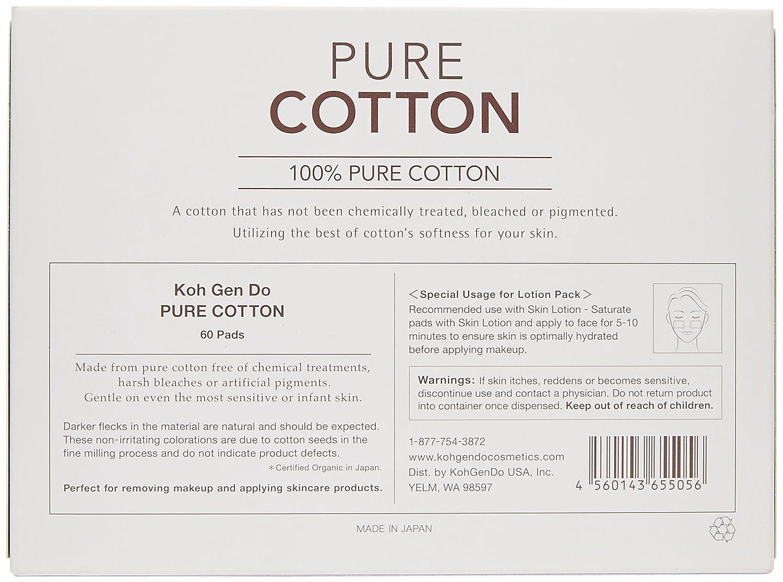 Amazon koh gen do pure cotton 60 ct eye makeup removers amazon koh gen do pure cotton 60 ct eye makeup removers beauty falaconquin