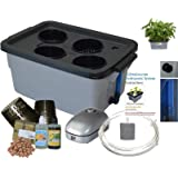 Hydroponic system complete DWC BUBBLER kit by #3-6 H2OToGro