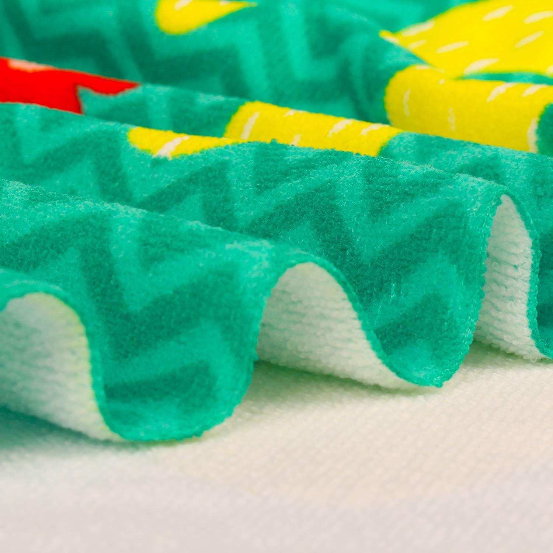 Oversized Beach Blanket Towel Portable Ultra Soft Super Water Absorbent Multi-Purpose Beach Throw Travel Towel for Travel Adults Girls Women Kids 30x 60 inch NuanSumm Microfiber Beach Towels
