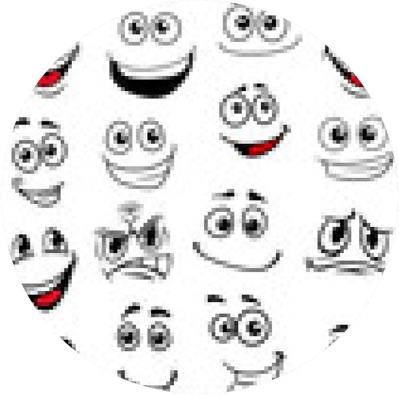 alfombrilla de ratón Dibujos de caras con diferentes ...