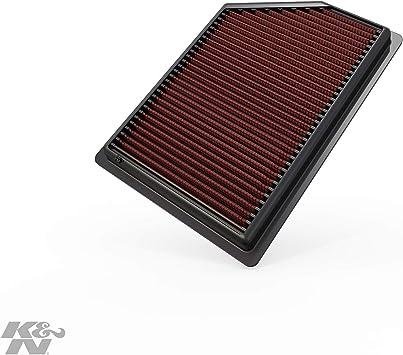 K N 33 5009 Motorluftfilter Hochleistung Prämie Abwaschbar Ersatzfilter Erhöhte Leistung 2014 2018 Cherokee Auto