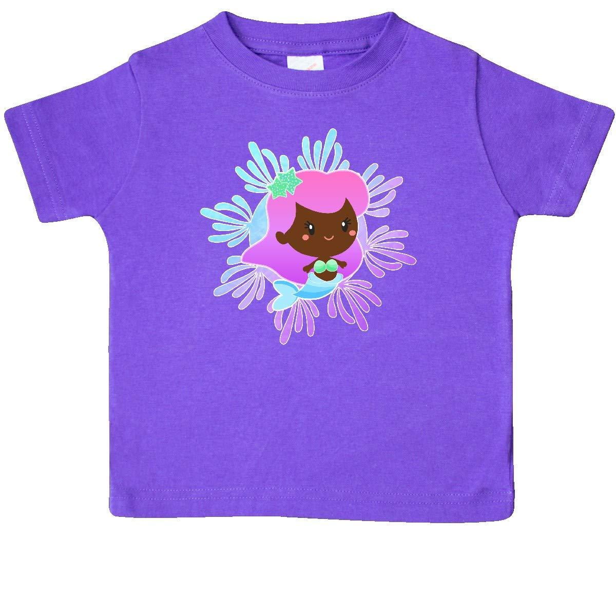 inktastic Swimming Mermaid Baby T-Shirt