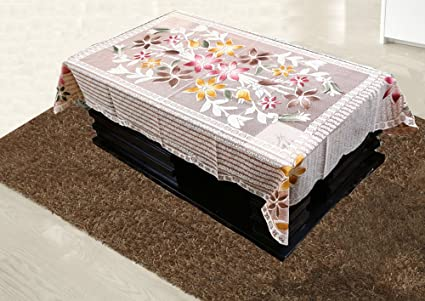 126d9ad7c Buy Kuber Industries Floral Cotton Center Table Cover for 4 Seater ...