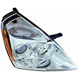 Depo 323-1120R-AS Kia Sedona Passenger Side Replacement Headlight Assembly