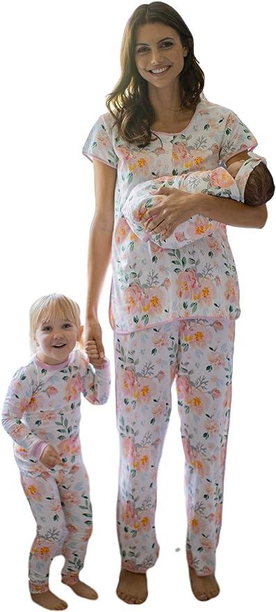 Conjunto de pijama a juego para mamá y Big Sister/Brother ...