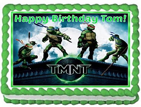 Amazon.com: Teenage Mutant Ninja Turtles Comestible ...