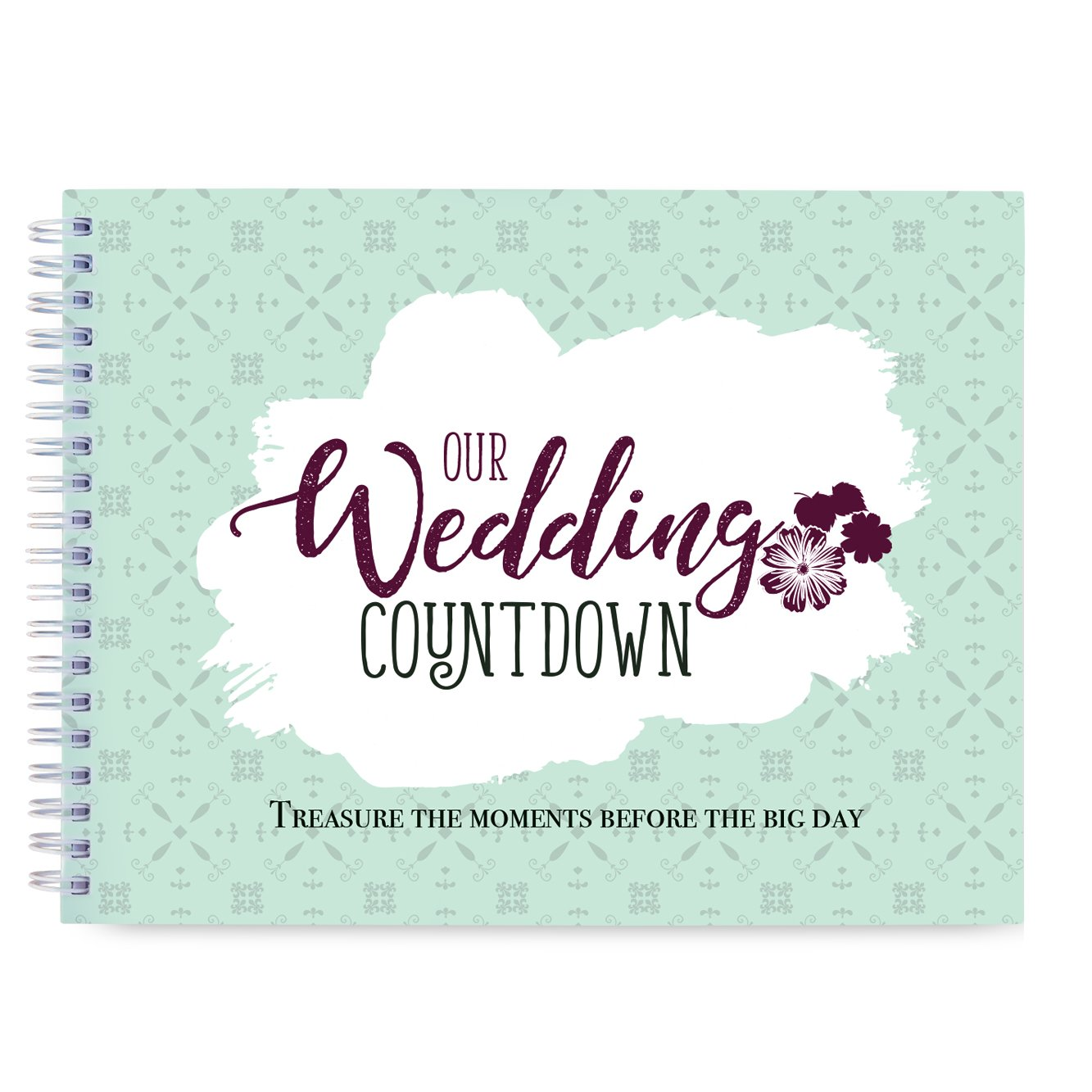 What A Choice Wedding Countdown Book Photo Album To Record Memories Before The Big Day Bride Planner Organizer Wedding Checklist Bridal Shower