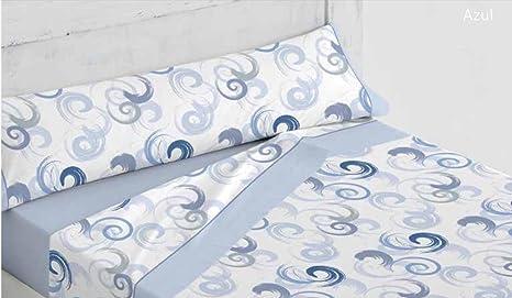Platinum ForenTex - Juego de sábanas, (M-Andrea Azul), Estampadas ...