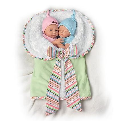 ec78ca5bd9af Amazon.com  Madison And Mason Twins in Custom Bunting So Truly Real ...