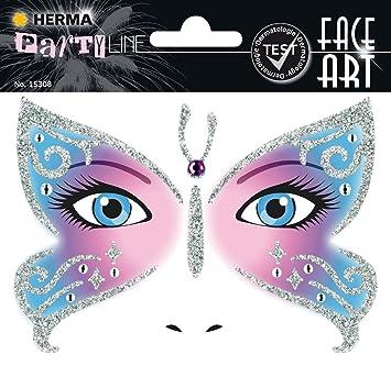 Herma 15308 Face Art Sticker Kostum Aufkleber Fur Das Gesicht