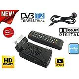 Decoder Mini Digital Terrestrisch DVB T2Scart 180USB HDMI HD 333