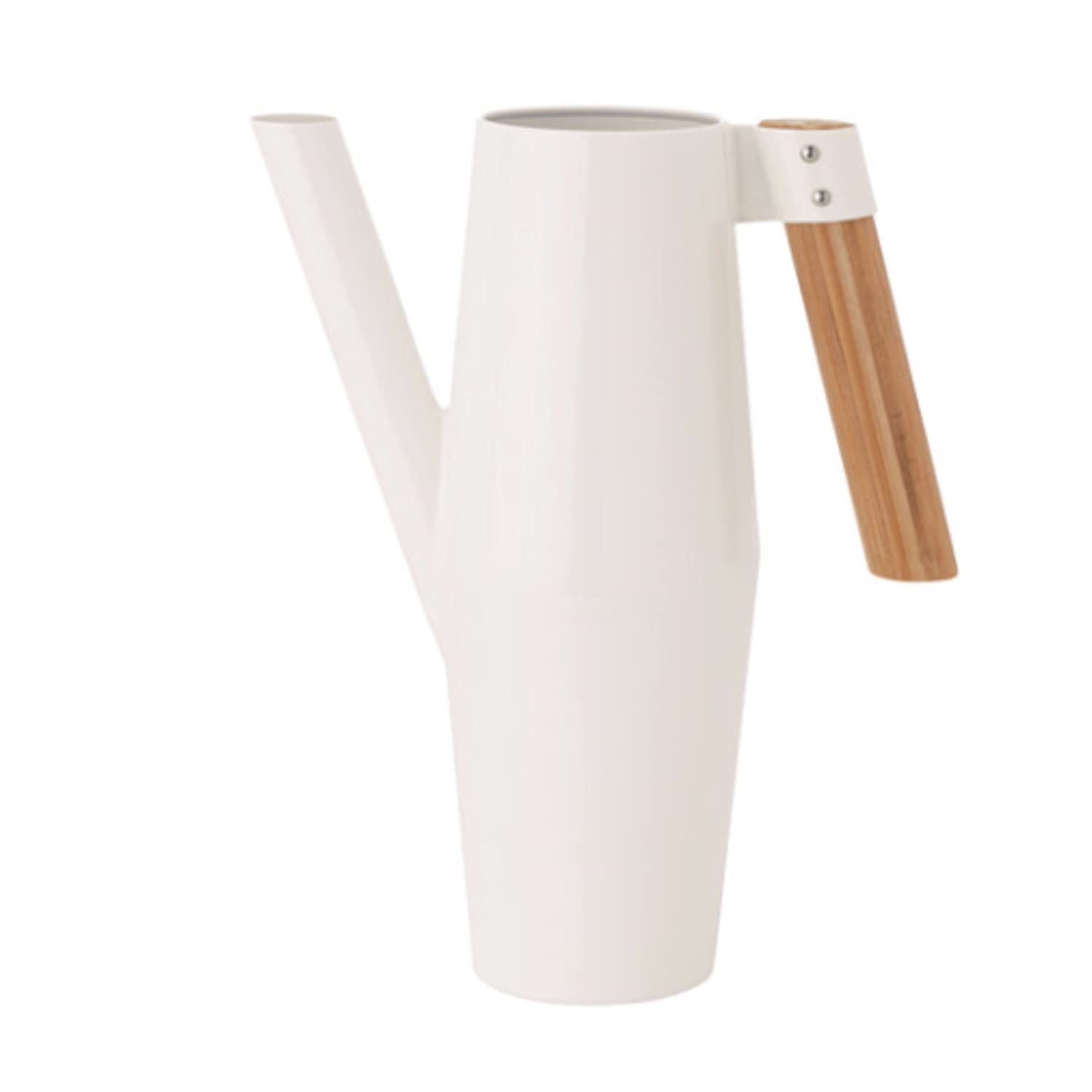 IKEA Contemporary Watering Can Bamboo Handle Bittergurka 303.680.68, White