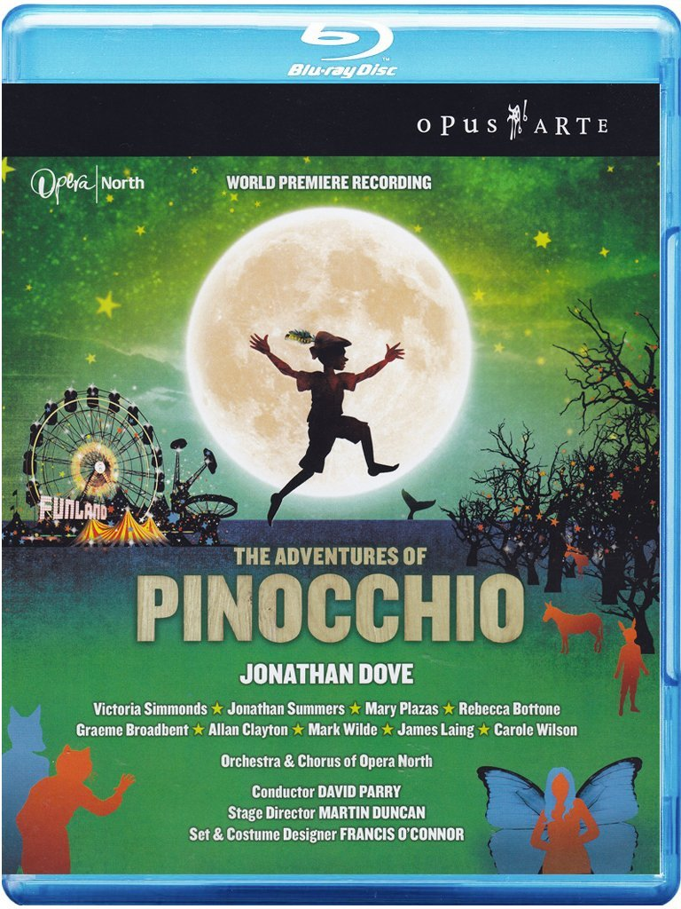 Jonathan Dove - The Adventures of Pinocchio Blu-ray Francia ...