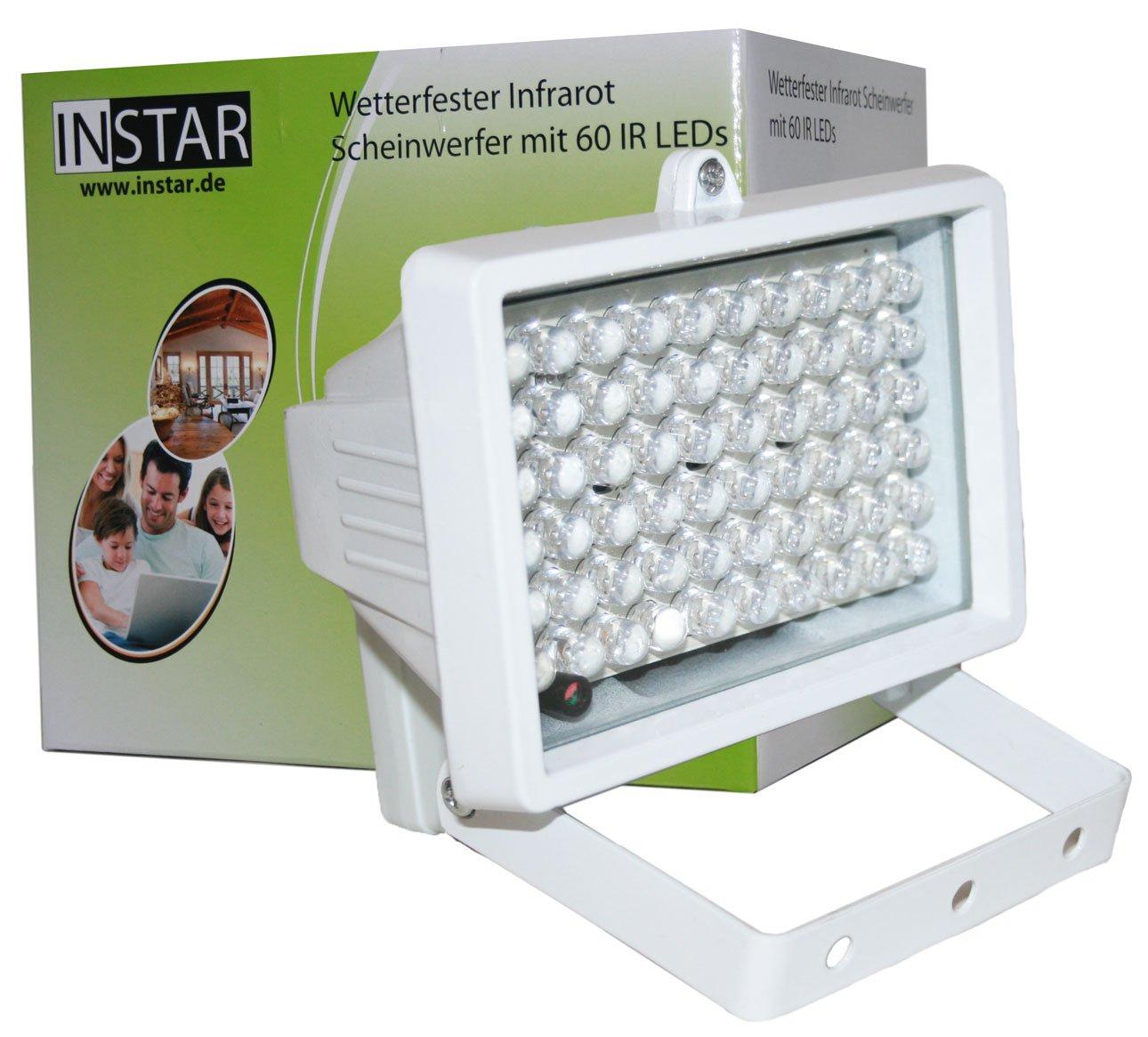 ww521 instar in 905 v2 100793 infrarotscheinwerfer mit automatischem helligkeits. Black Bedroom Furniture Sets. Home Design Ideas