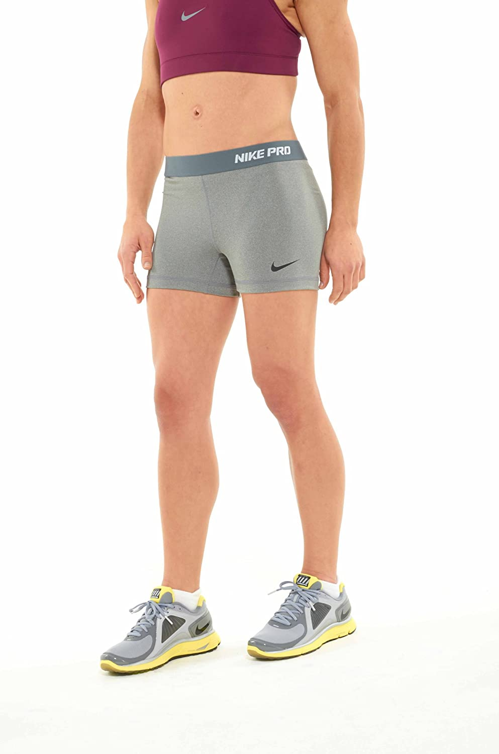 buy online 1027c 16cdf Amazon.com  Nike Pro Core II Women s 2.5 Inch Compression Shorts  Sports    Outdoors