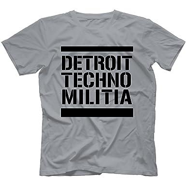 Detroit Techno Militia T-Shirt in 11 Farben