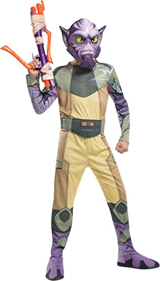 Disfraz de Zeb Orrelios Star Wars Rebels para niño: Amazon.es ...