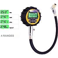 Lumiereholic Medidor digital de presión de neumáticos