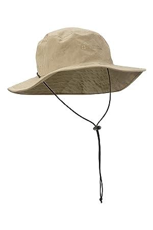 Mountain Warehouse Australian Brim Sombrero australiano del borde - 100% casquillo del vaquero del algodón